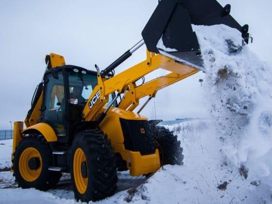 Уборка снега на предприятиях