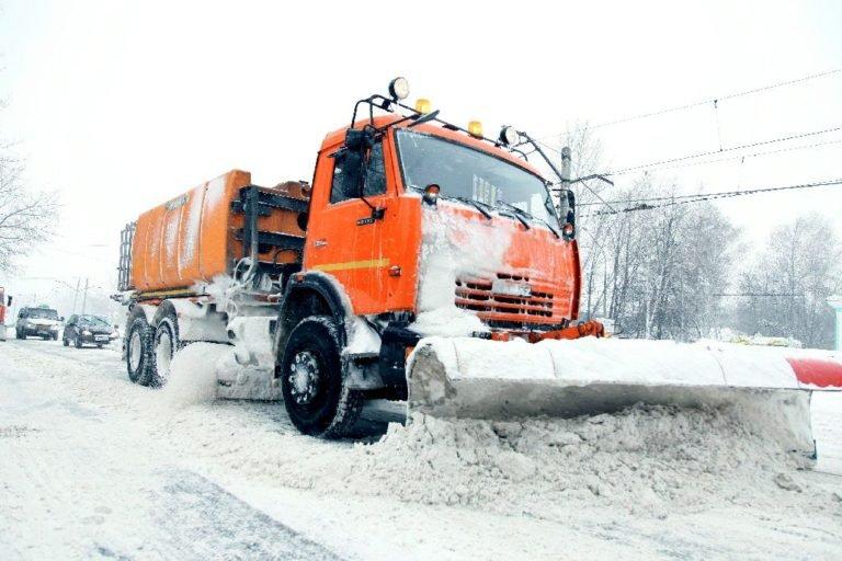 уборка снега москва